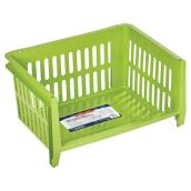 Stacking Storage Basket - Green
