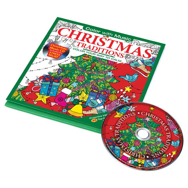 Coloriage pour adultes, Noël