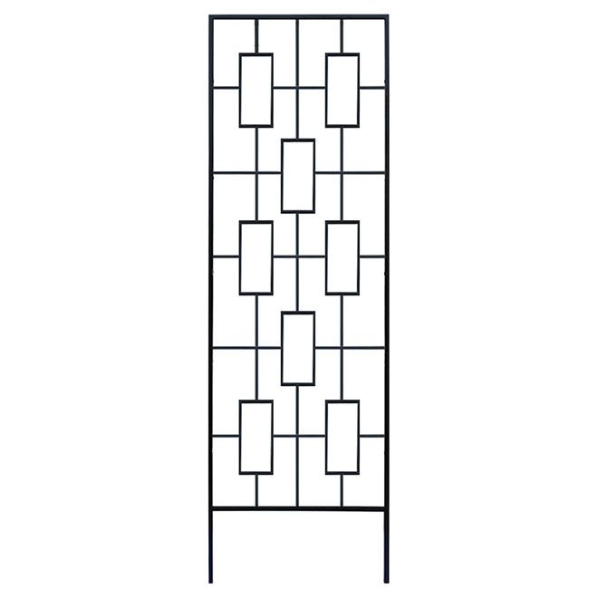 Clôture en treillis de style contemporain, 78 po x 23 po