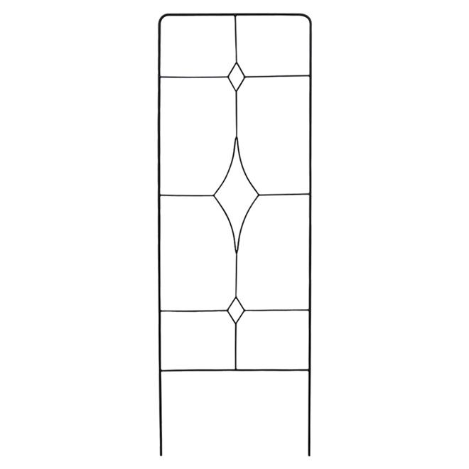 Clôture en treillis de style contemporain, 24 po x 72 po
