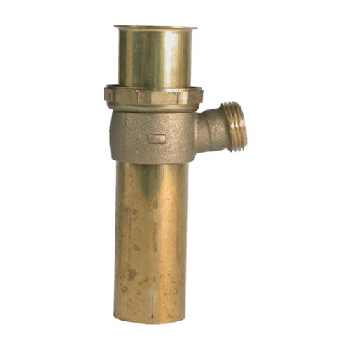 Plumbpak Dishwasher Tailpiece - Brass - 1 1/2 x 6