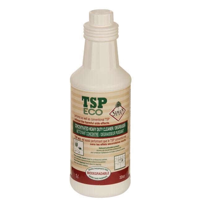 Produit dégraissant concentré TSP Eco, 1 litre