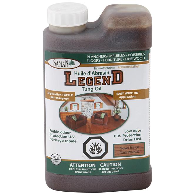 Huile d'abrasin « Legend » couleur truffe de 946 ml