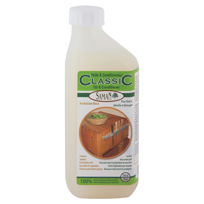 Oil and Conditonner for Butcher Block - 500 mL