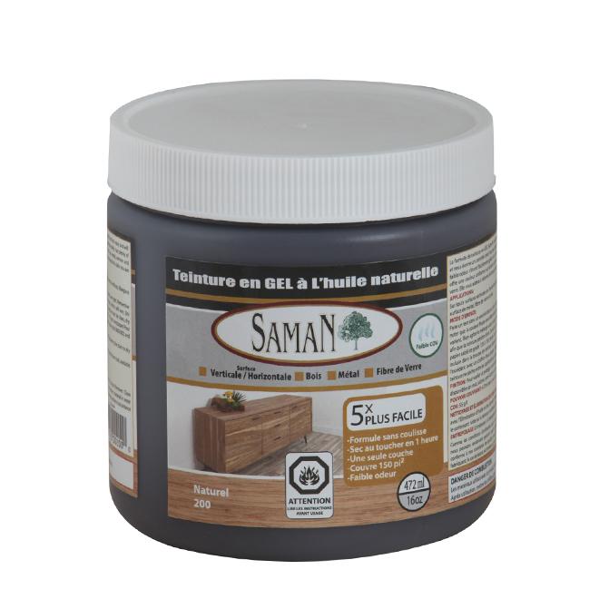 Teinture en gel à l'huile naturelle, 472 mL, naturel