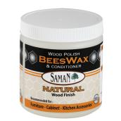Saman Beeswax Furniture Polish - Natural Finish - 200 g