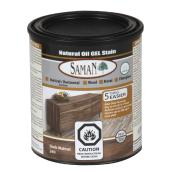 Natural Oil Gel Stain - 946 mL - Dark Walnut