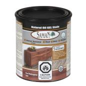 Natural Oil Gel Stain - 946 mL - Red Mahogany