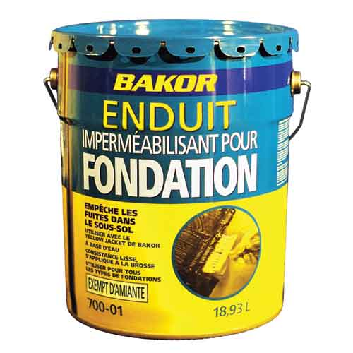 Bakor Foundation Coating Waterproof 18 9 L Rona