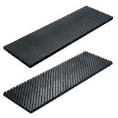 "Recycled Rubber Stair Tread - 24""x8""x1/2"""
