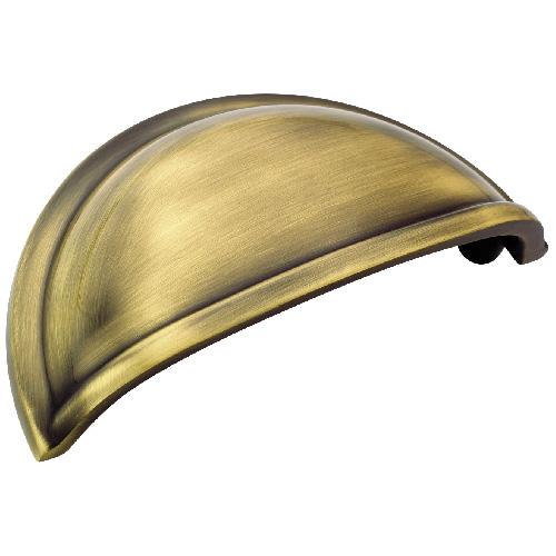 Poignée en métal fini laiton