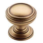 Bouton en zinc fini bronze