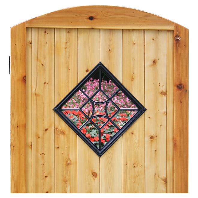 Accessoire décoratif pour clôture