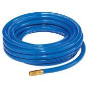 "Boyau à air en PVC pour compresseur, 3/8"" x 25', bleu"