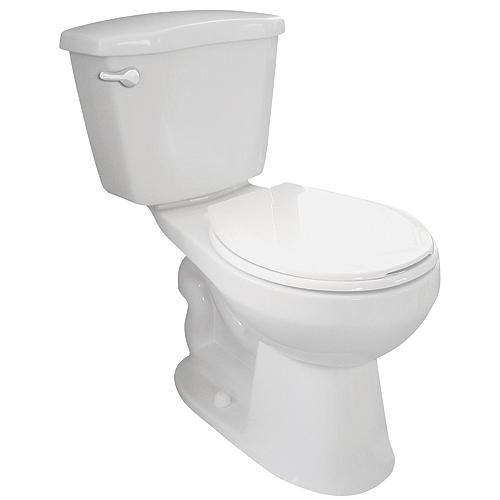 Toilette 2 pièces à réservoir isolé