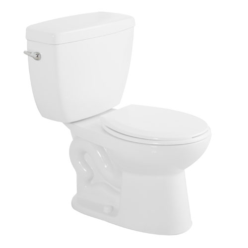 Foremost Round Front 2 Piece Toilet Minuet 6 L White Rona