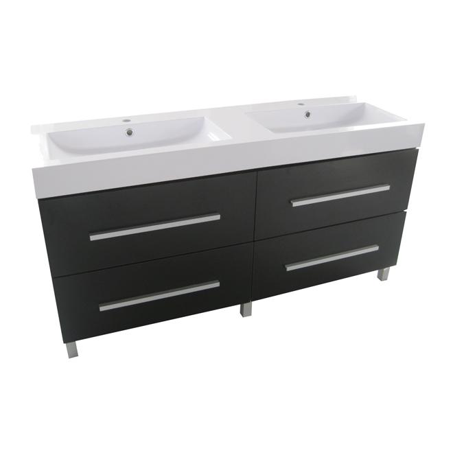 Meuble-lavabo double