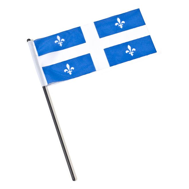 Drapeau national du Québec, 5 po x 10 po