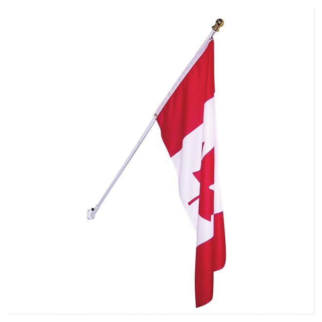 Drapeau canadien, 6 pi