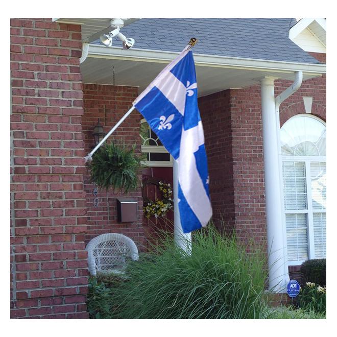Mat pivotant et drapeau Flags Unlimited, 6 pi
