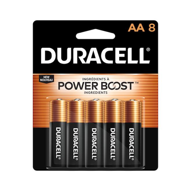 Paquet de 8 piles AA