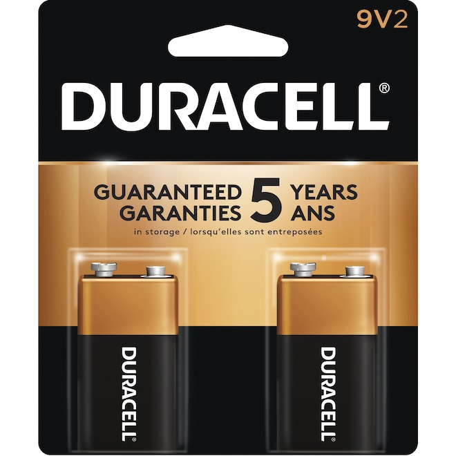 Pack of 2 9V Batteries