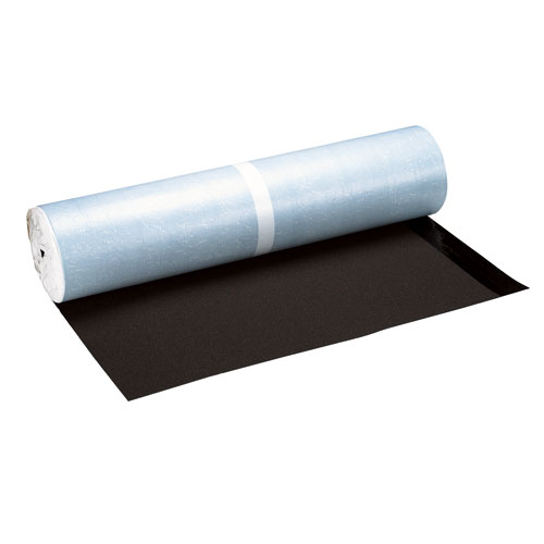 Protecteur d'avant-toit, auto-adhesif, brun foncé, 65'