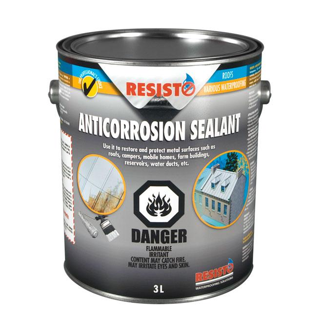 Enduit anti-corrosion imperméable