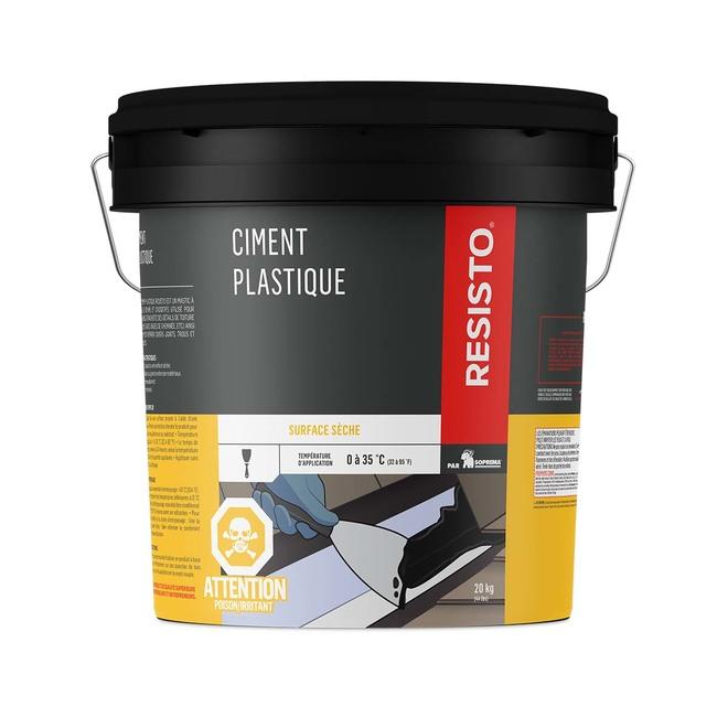 Ciment plastique, 20 kg