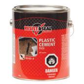 Flex Plastic Cement - All Season - Black - 4kg