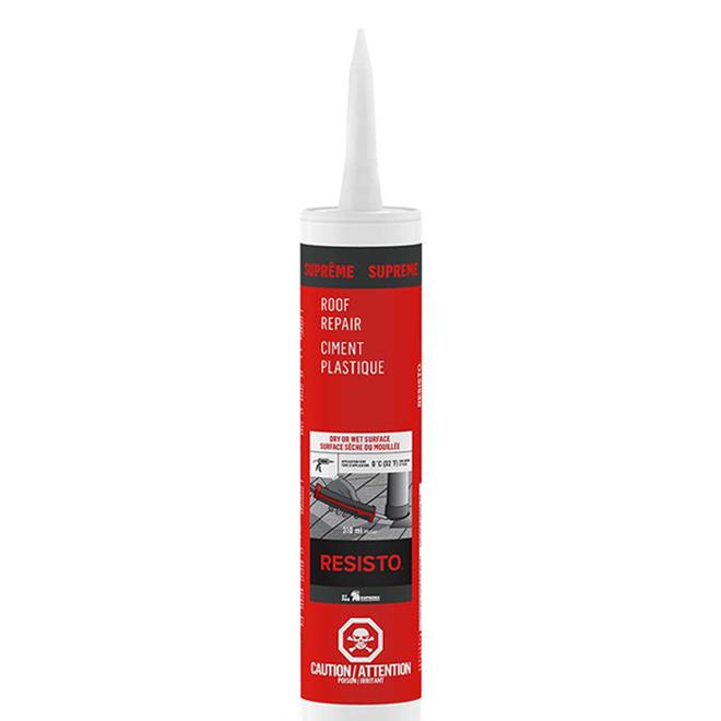 Ciment plastique Ultra pour toutes surfaces, 300 ml, noir