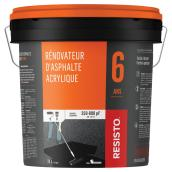 Acrylic Asphalt Restorer - 6 Years - 350 to 800 sq. ft. - 17 L