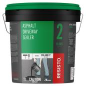 Asphalt Driveway Sealer - 2 Years - 250 to 500 sq. ft. - 17 L