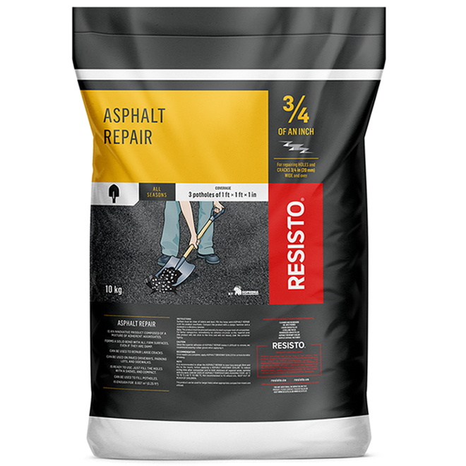 Asphalt Repair - Acrylic - Bag of 22 lb