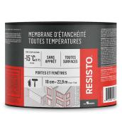 "Membrane d'étanchéité Resisto(MD) Soprema, 4"" x 75', blanc"