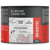 """Soprema Resisto(R) All-Weather Flashing Tape- 4"""" x 75'- White"""
