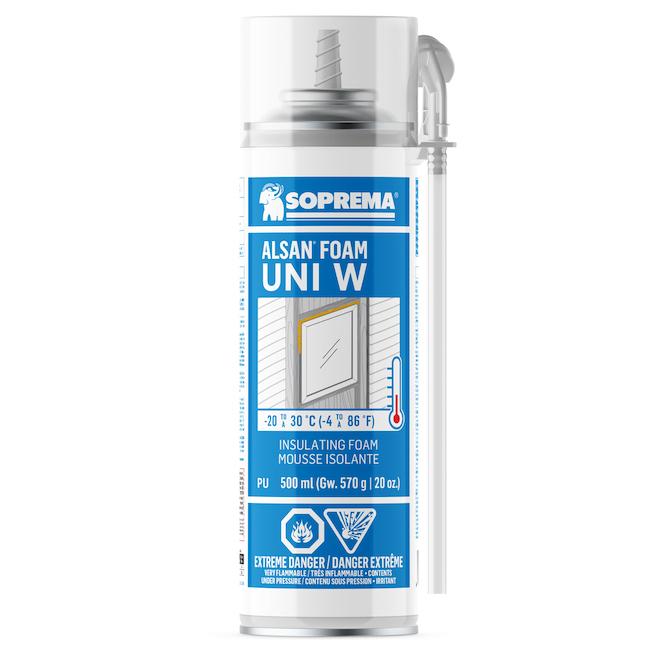 Soprema Alsan Uni W 500 ml Polyurethane Insulating Foam