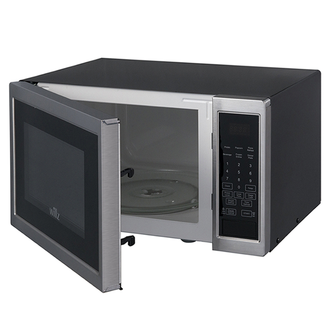 Willz Countertop Microwave Oven - 0.9-cu ft - 900 W - Stainless Steel