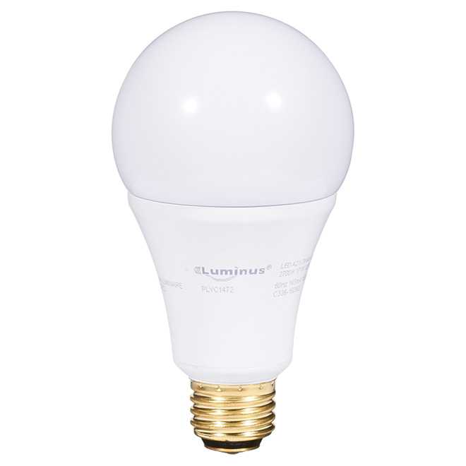 Ampoule DEL A21 « 3 intensités » 5 W, 9 W, 17 W