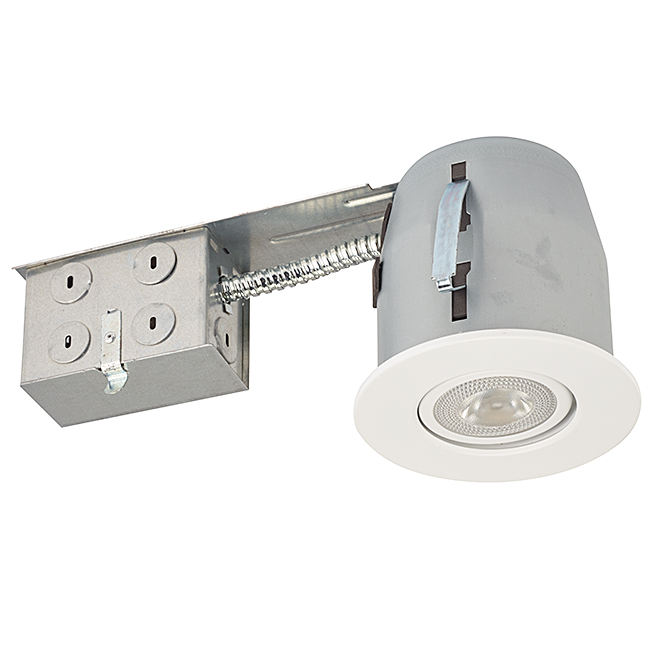 Dimmable Recessed Light - 7W PAR20 LED - White