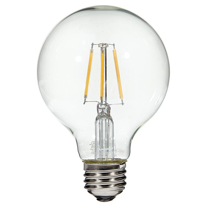 Ampoule à filament DEL, 4,5W/G25, blanc chaud