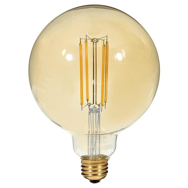 Ampoule à filament DEL, 4,5W/G40, chandelle
