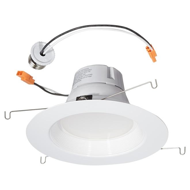 Module remplacement pour encastré DEL, 13W, blanc brillant