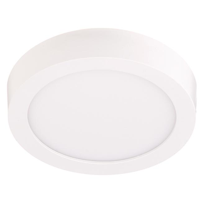 """Rondelle d'éclairage, DEL 11 W, 5 1/2"""", blanc doux"""