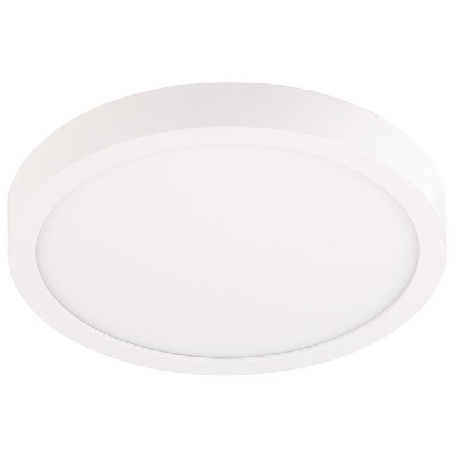 """Rondelle d'éclairage, DEL 19 W, 9"""", blanc doux"""