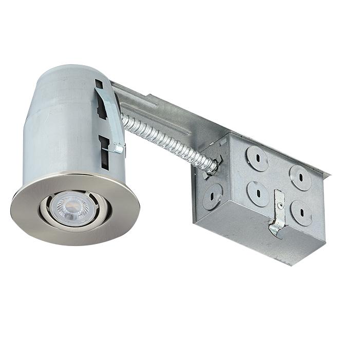 Luminaire encastré à intensité réglable, DEL GU10 6 W