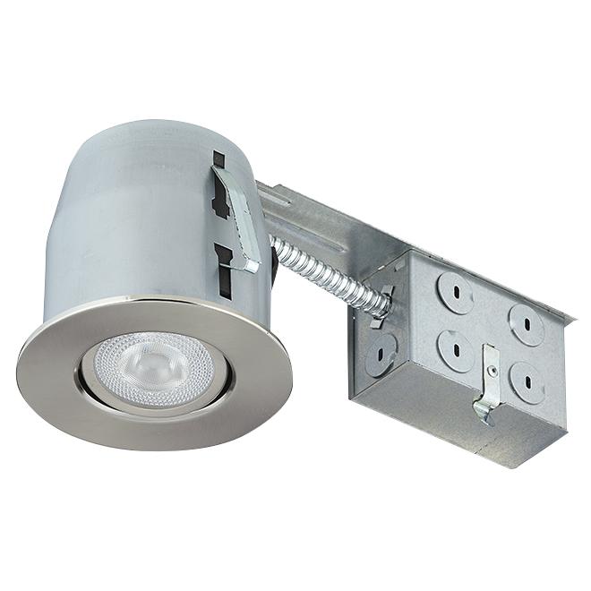 Luminaire encastré à intensité réglable, DEL PAR20, 7 W