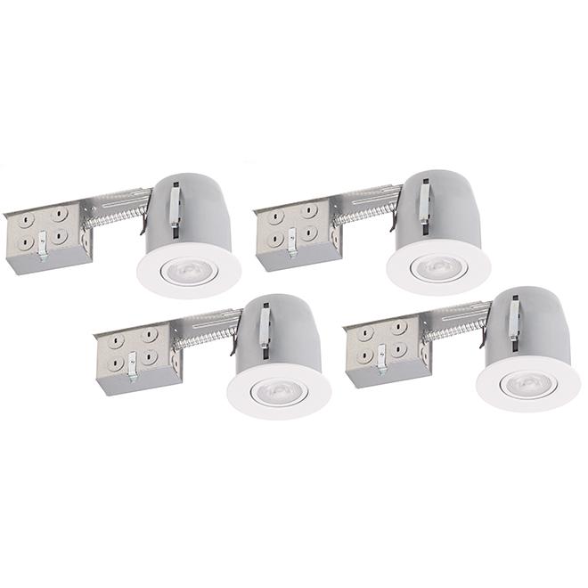 Luminaires encastrés à intensité réglable, DEL PAR20 7 W