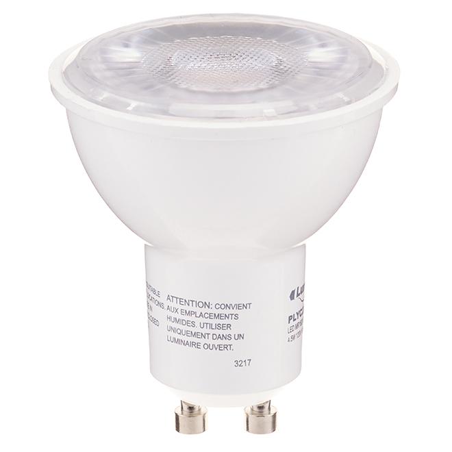 Ampoule DEL, GU10, blanc doux