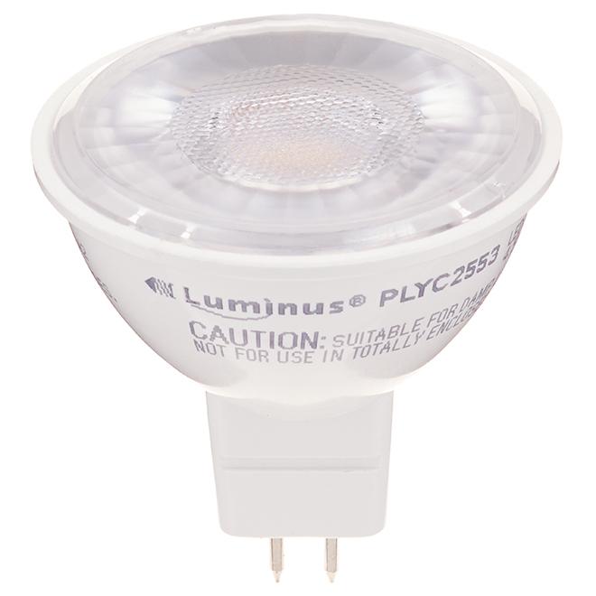 Ampoule DEL, MR16, 4,5W, blanc doux